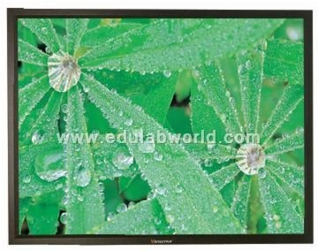 Frame Projection Screen