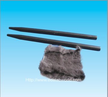 Rubber bar with fur